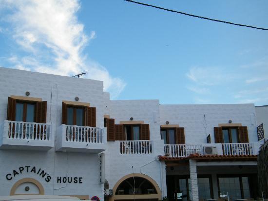 Captain's House Hotel: Esterno dell'hotel