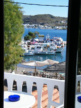 Captain's House Hotel: Vista dal mio terrazzo
