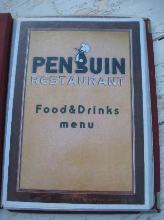 Penguin Village: Menu