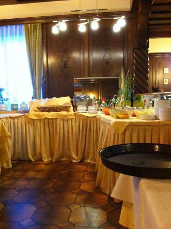 Hotel Martini: salad bar
