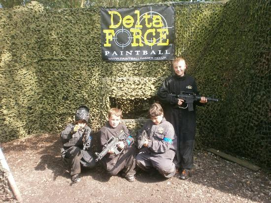 Delta Force Paintball Holmes Chapel: great memory
