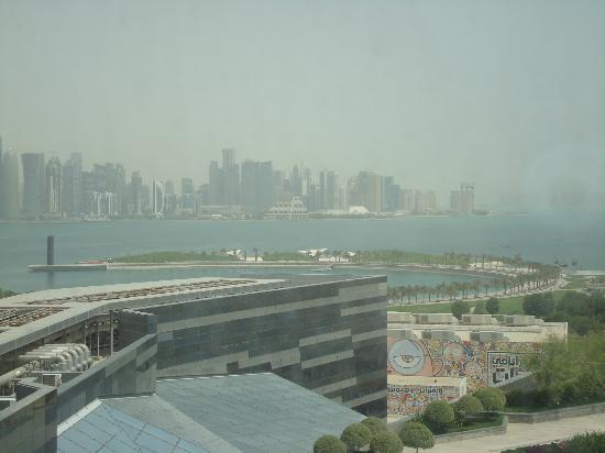 Fraser Suites Doha: View from the room to Financial City