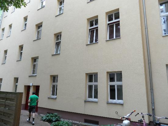 Real Appartements: All six windows from bottom right.