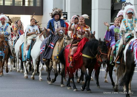 Calgary Stampede First Nations Parade Picture Of Calgary