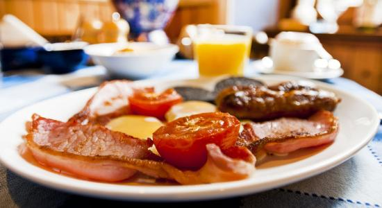 Scotia Bed and Breakfast: Full Scottish Breakfast