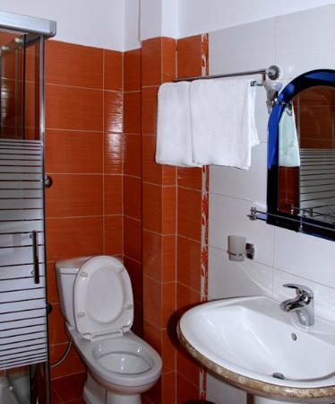 Hotel Vila e Arte: The bathroom