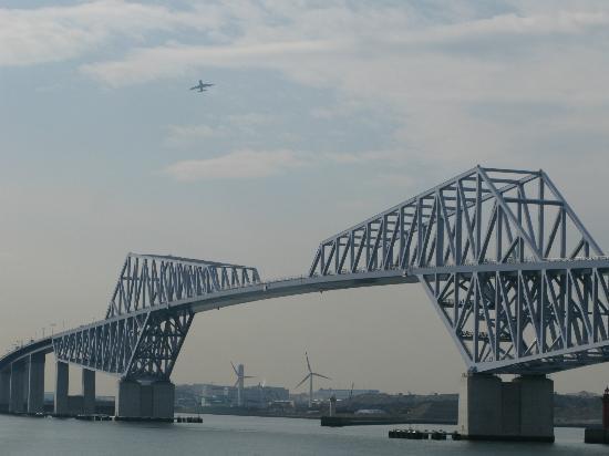 Tokyo Gate Bridge : 若洲公園サイクリングコースから