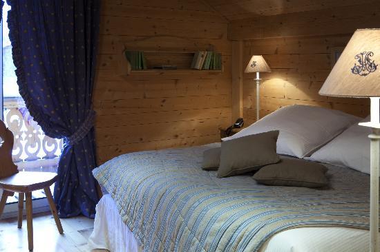 Chalet Hotel Hermitage Paccard: Chambre de la Maisonnée