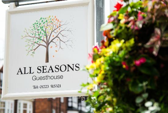 All Seasons Guest House Filey, B&B: All Seasons