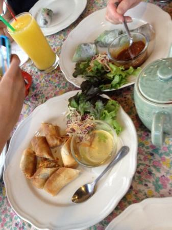 Dash! Restaurant and Bar: lekkere springrolls