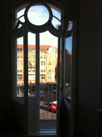 St. Oberholz Apartments: View from lounge