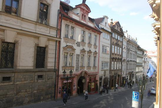 Small Luxury Palace Hotel Prague: vista desde habitacion