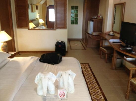 Chaba Cabana Beach Resort: Ground floor room
