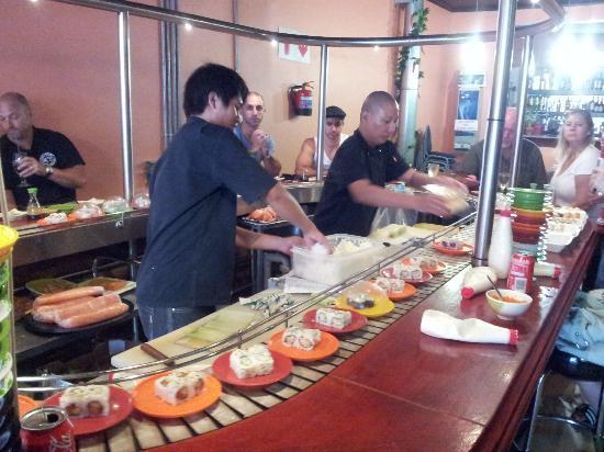Bite Your Tongue: Inside sushi bar