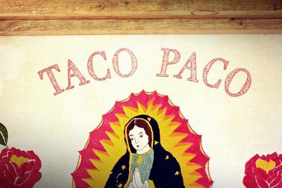 La Guadalupe de Taco Paco