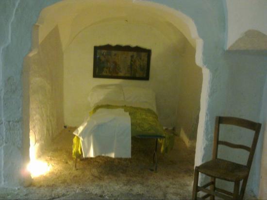 Museo della Casa alla Fasanese: L'alcova, la camera da letto dei genitori