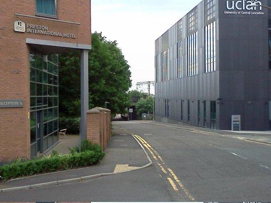 Legacy Preston International: View from Marsh Lane