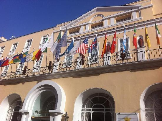 Grand Hotel Quisisana: entrence