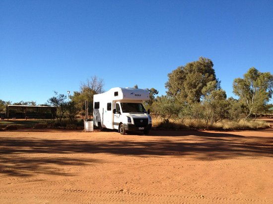 Kings Creek Station: Our campsite.