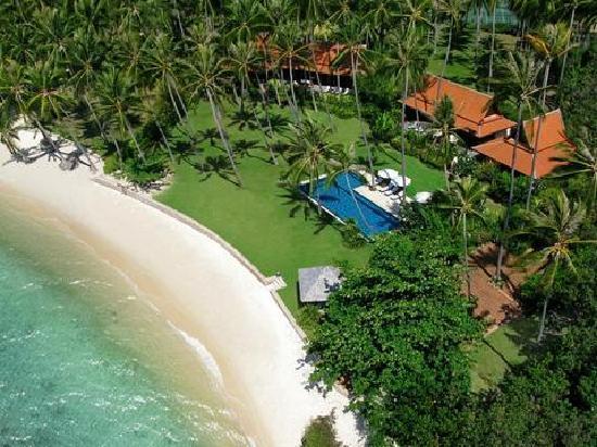 Ban Sairee Villa: Aerial View
