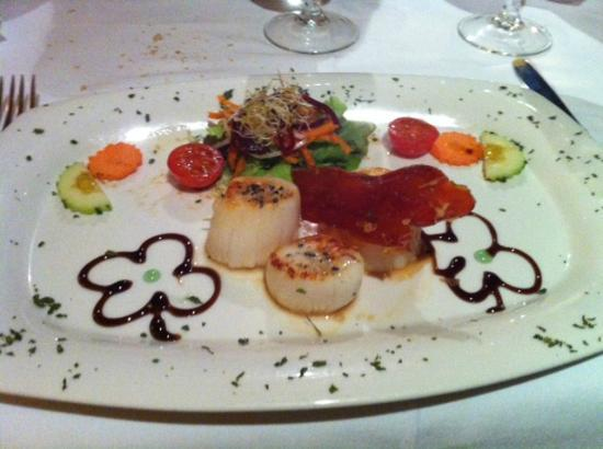 C'an Olga: coquilles st jacques