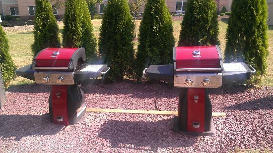 Quality Inn & Suites Conference Center: Grill area