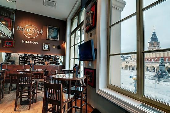 Hard Rock Cafe Kraków: Main Floor