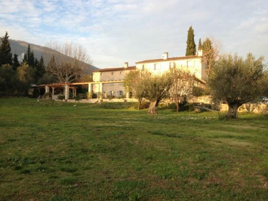 Bastide Saint Mathieu: View from the olive groves