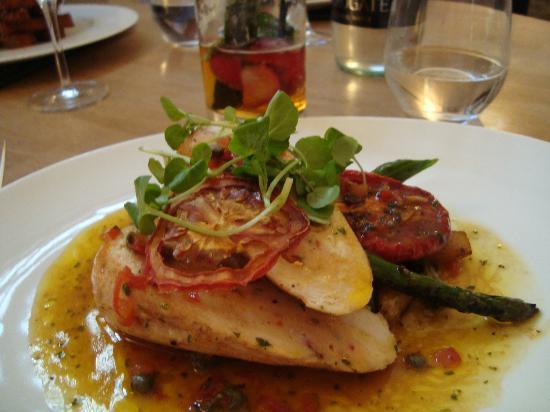 The Restaurant at St Paul's: Chicken Ballotine & Tomato Stuffing