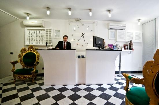 Hotel San Valentino : lobbi