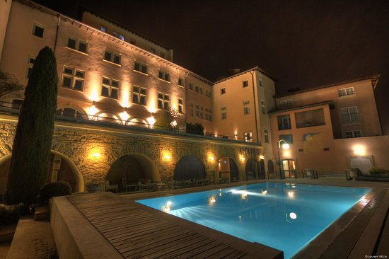 فيلا فلورينتين: Vue piscine Villa Florentine