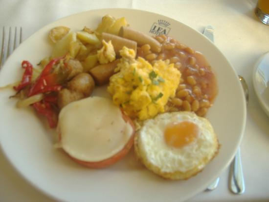 IFA Dunamar Hotel: brilliant breakfast