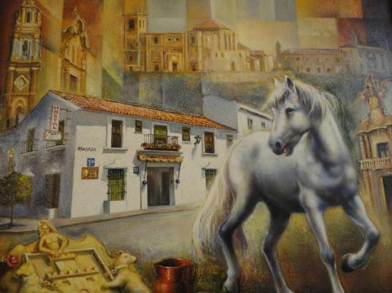 Hostal El Caballo Blanco : El caballo blanco