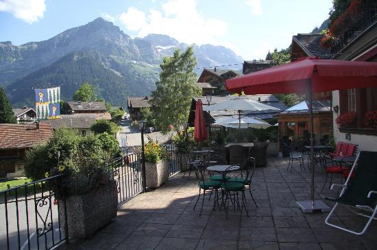 Art.Boutique.Hotel Beau-Sejour : Outside terrace