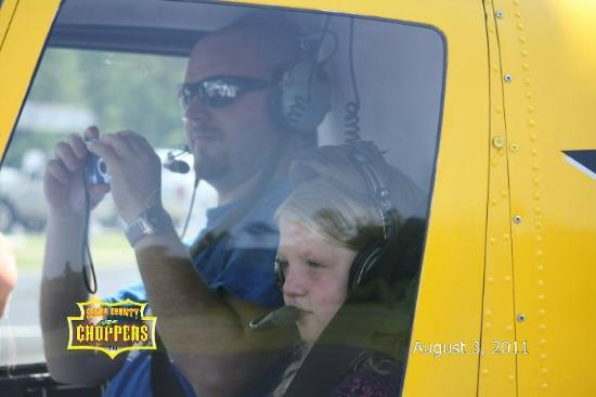 Smokey Mountain Excursions: Sevier County Choppers Helicopter Tours