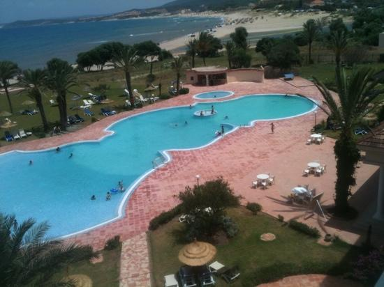 Hotel Itropika Beach : vu de ma chambre