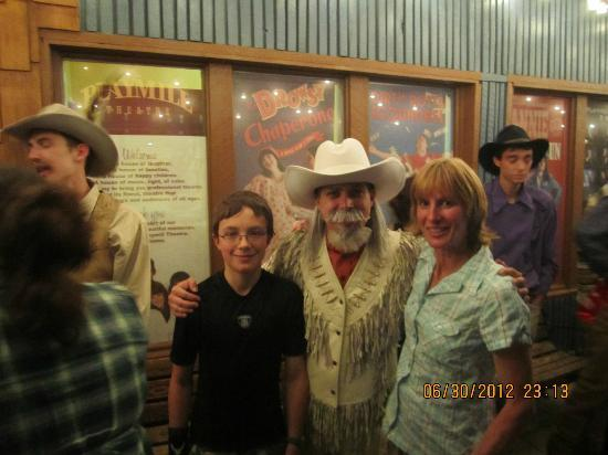 Playmill Theatre: Sandy Colt and our Nephew Buffalo Bill.