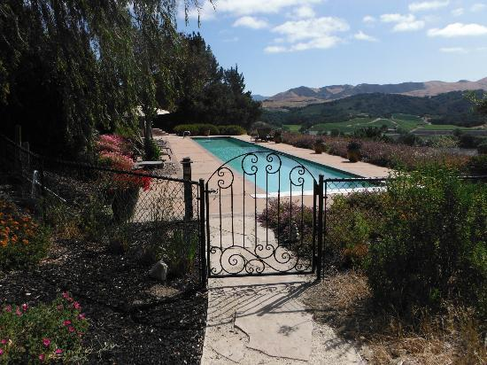 The Casitas of Arroyo Grande: View of pool and hills