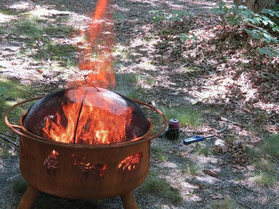 Horton's Camping Resort : Fire Pit