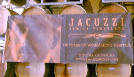 Jacuzzi Family Vineyards: Jacuzzi Family Winery