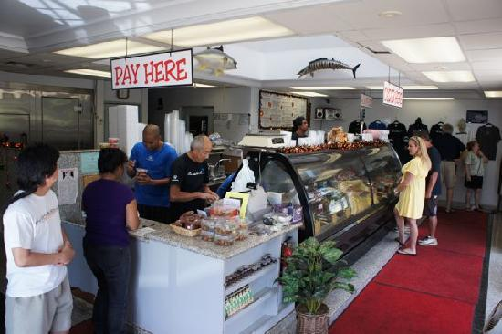 The Fish Express: Inside the store