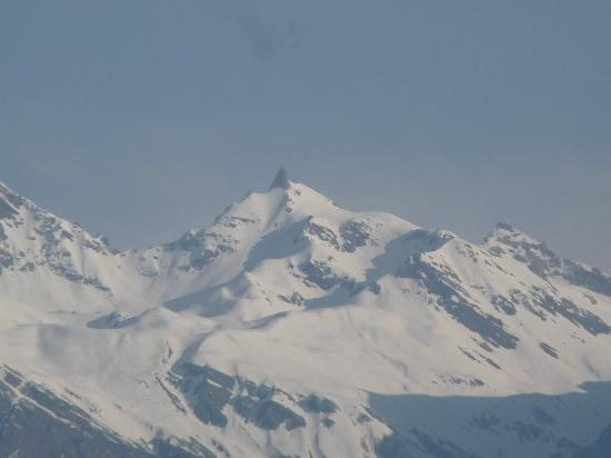 The Srikhand (HPTDC): View from Balcony - on clear day