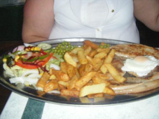Yorkshire Pride One: gammon steak