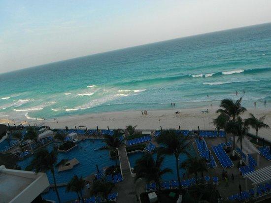 GR Caribe by Solaris: Vista de la playa desde habitacion