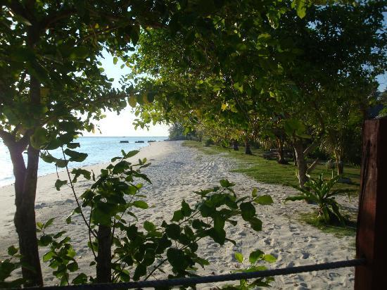 Maratua Paradise Resort: la spiaggia del resort