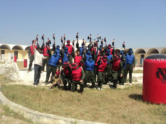 Zizou Paintball Club Hammamet: lot of fun
