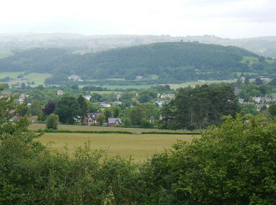 Rothbury from Cusop Hill