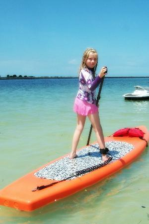 Tampa Bay SUP Stand Up Paddleboarding & Kayaking: Our girl SUPing