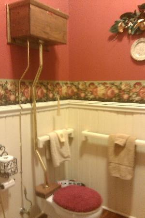 Chipley Murrah Bed & Breakfast: Bathroom area