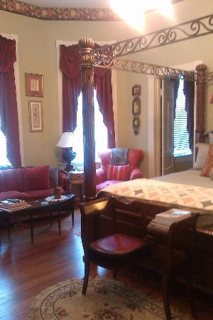 Chipley Murrah Bed & Breakfast: View of sitting area